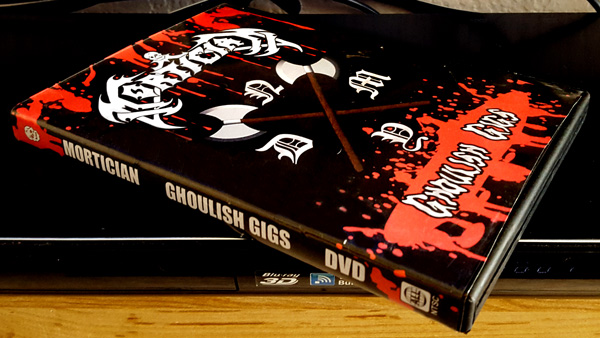 Mortician Ghoulish Gigs DVD Out Now